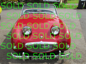 1960 Austin Healey Frogeye Sprite - Good example