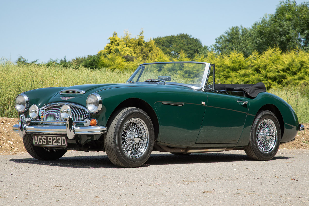 1966 Austin Healey 3000 MkIII, Tri-Carb Performance Engine SOLD (picture 3 of 6)