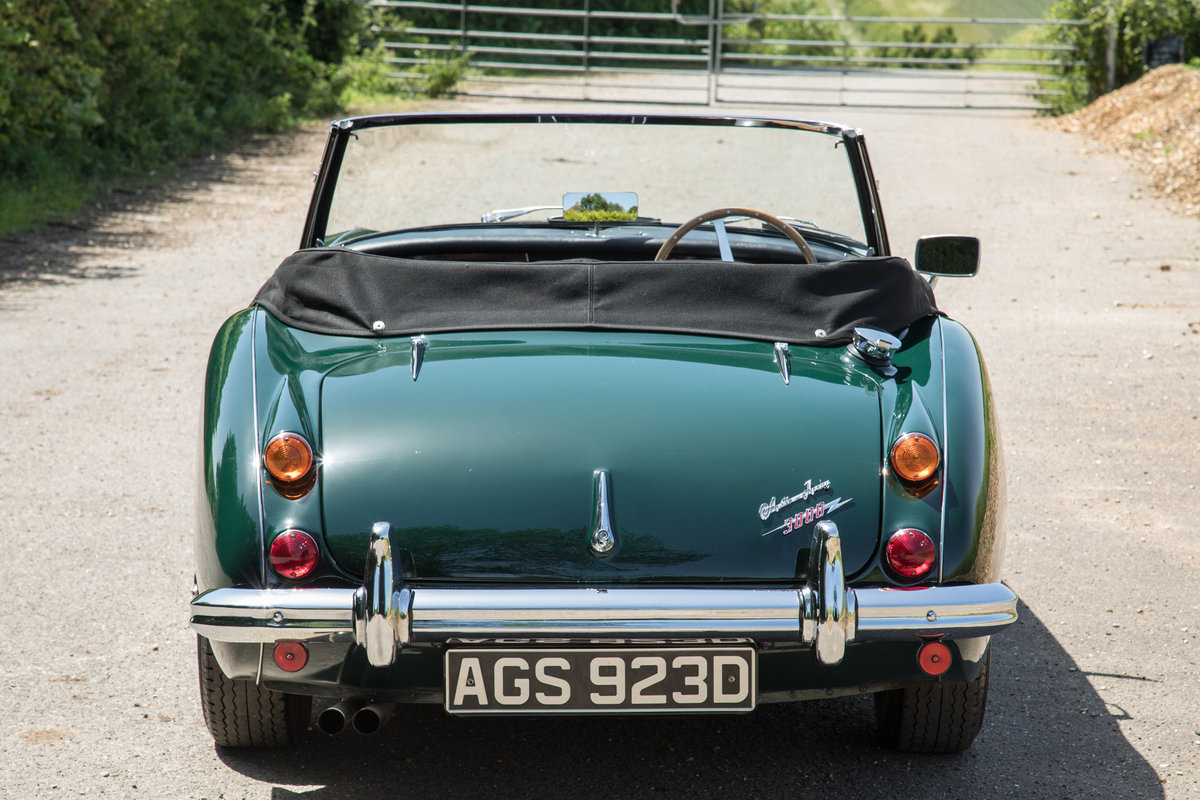 1966 Austin Healey 3000 MkIII, Tri-Carb Performance Engine SOLD (picture 4 of 6)