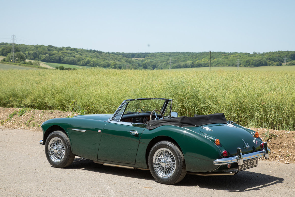 1966 Austin Healey 3000 MkIII, Tri-Carb Performance Engine SOLD (picture 5 of 6)