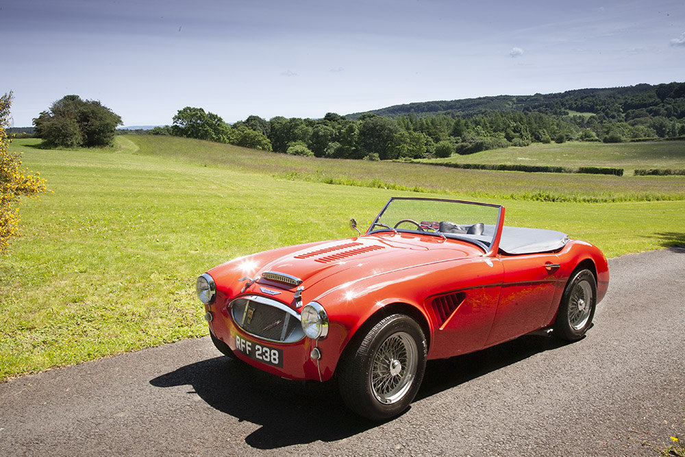 1961 AUSTIN HEALEY 3000 MK 1 COMPETITION LIGHTWEIGHT In Beam SOLD (picture 1 of 6)