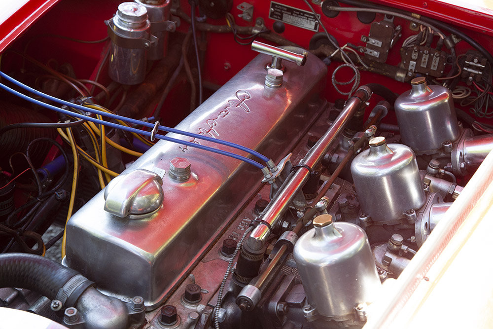 1961 AUSTIN HEALEY 3000 MK 1 COMPETITION LIGHTWEIGHT In Beam For Sale (picture 3 of 6)