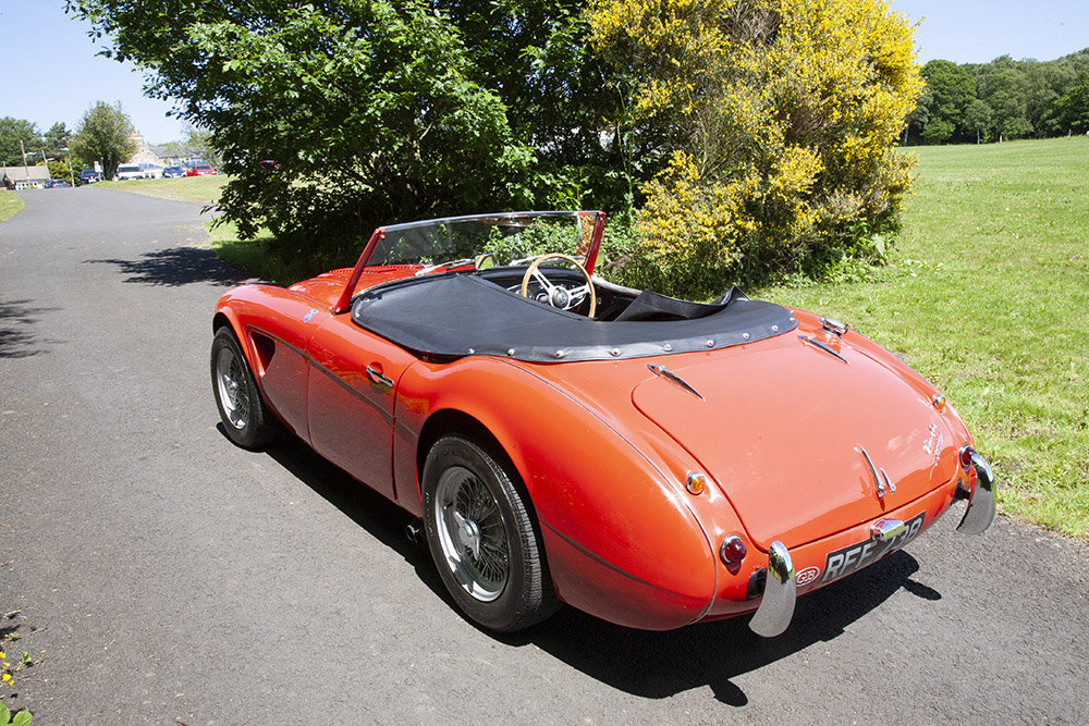 1961 AUSTIN HEALEY 3000 MK 1 COMPETITION LIGHTWEIGHT In Beam SOLD (picture 4 of 6)