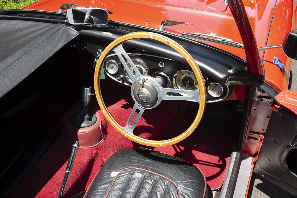 1961 AUSTIN HEALEY 3000 MK 1 COMPETITION LIGHTWEIGHT In Beam For Sale (picture 5 of 6)