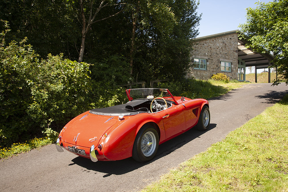 1961 AUSTIN HEALEY 3000 MK 1 COMPETITION LIGHTWEIGHT In Beam SOLD (picture 6 of 6)