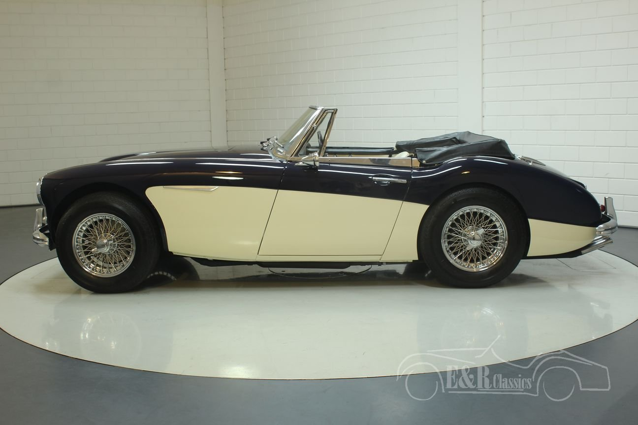 Austin Healey 3000 MK3 1964 (BJ8) Cabriolet Matching Numbers For Sale (picture 5 of 6)