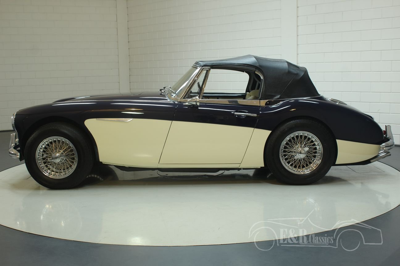 Austin Healey 3000 MK3 1964 (BJ8) Cabriolet Matching Numbers For Sale (picture 6 of 6)