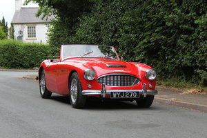 Austin Healey 3000 MKI, Matching No's, extensive touring
