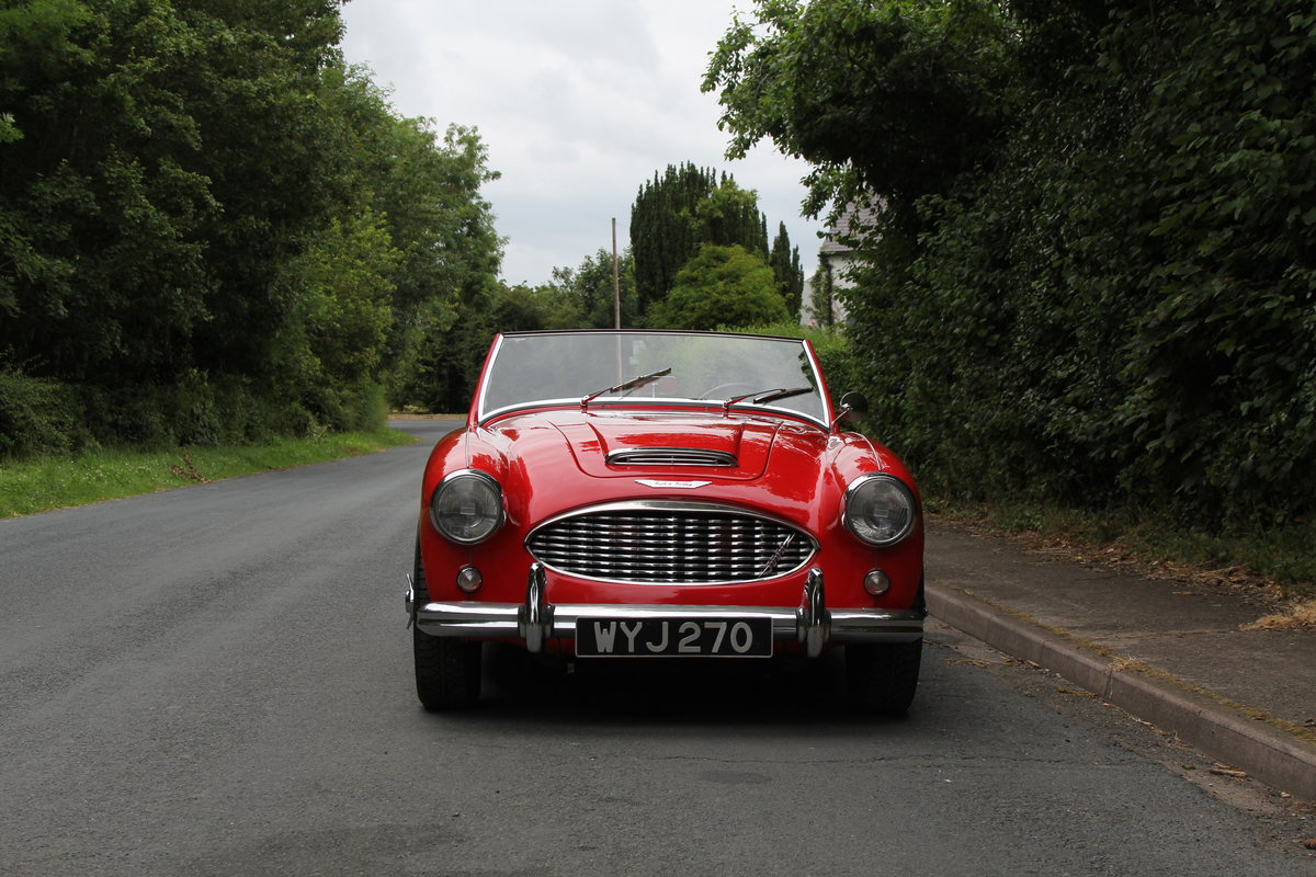 1959 Austin Healey 3000 MKI, Matching No's, extensive touring  For Sale (picture 2 of 12)