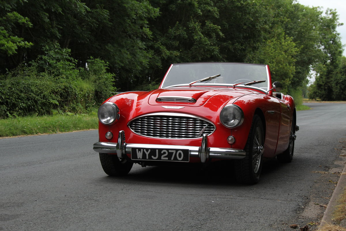 1959 Austin Healey 3000 MKI, Matching No's, extensive touring  For Sale (picture 3 of 12)