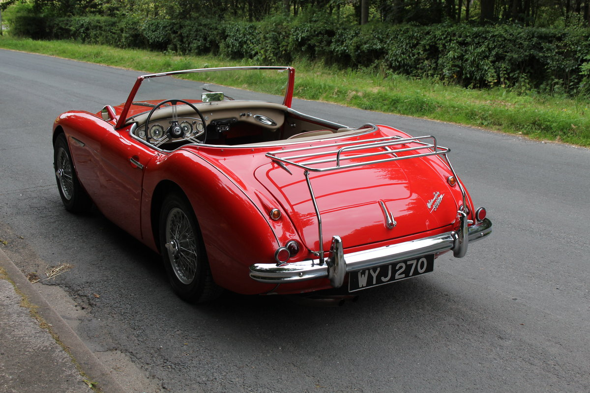 1959 Austin Healey 3000 MKI, Matching No's, extensive touring  For Sale (picture 4 of 12)