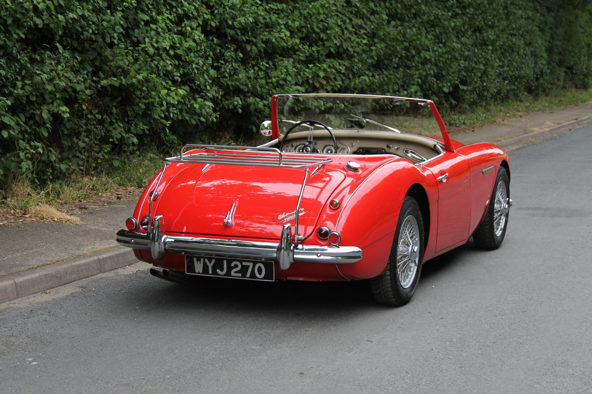 1959 Austin Healey 3000 MKI, Matching No's, extensive touring  For Sale (picture 5 of 12)
