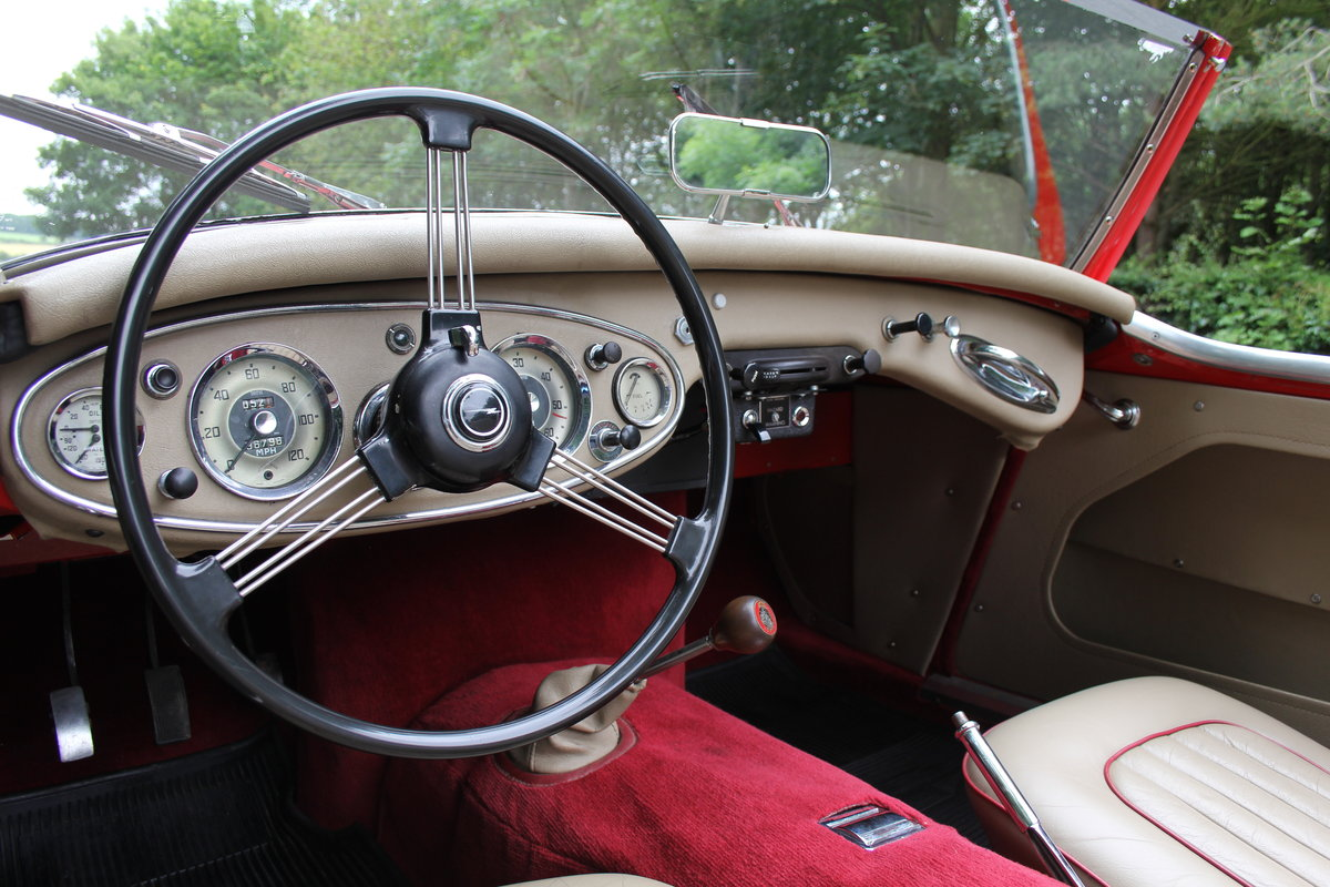 1959 Austin Healey 3000 MKI, Matching No's, extensive touring  For Sale (picture 7 of 12)