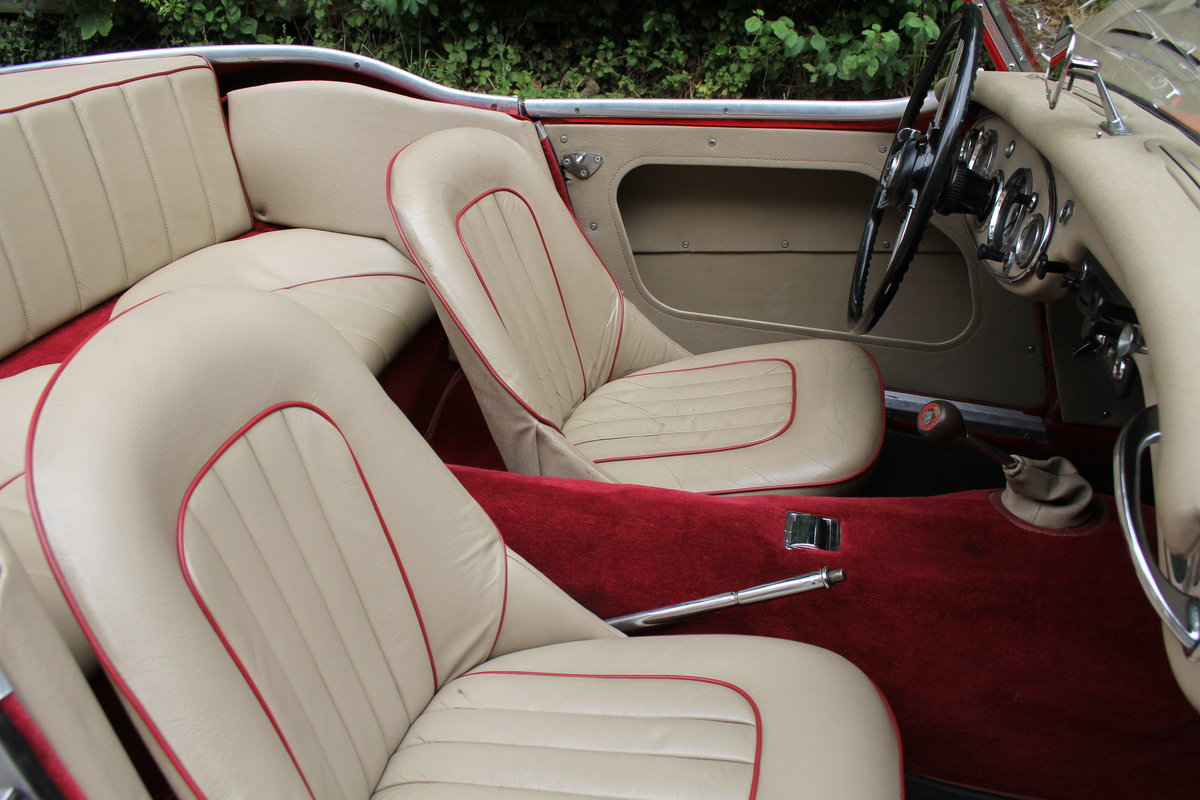 1959 Austin Healey 3000 MKI, Matching No's, extensive touring  For Sale (picture 9 of 12)