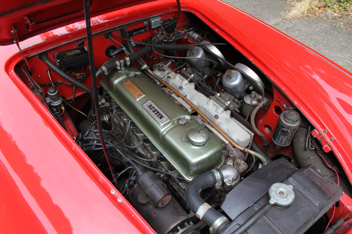 1959 Austin Healey 3000 MKI, Matching No's, extensive touring  For Sale (picture 11 of 12)