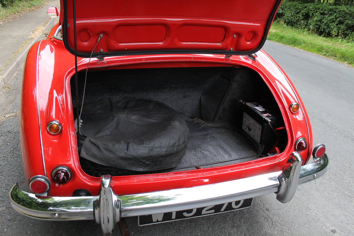 1959 Austin Healey 3000 MKI, Matching No's, extensive touring  For Sale (picture 12 of 12)