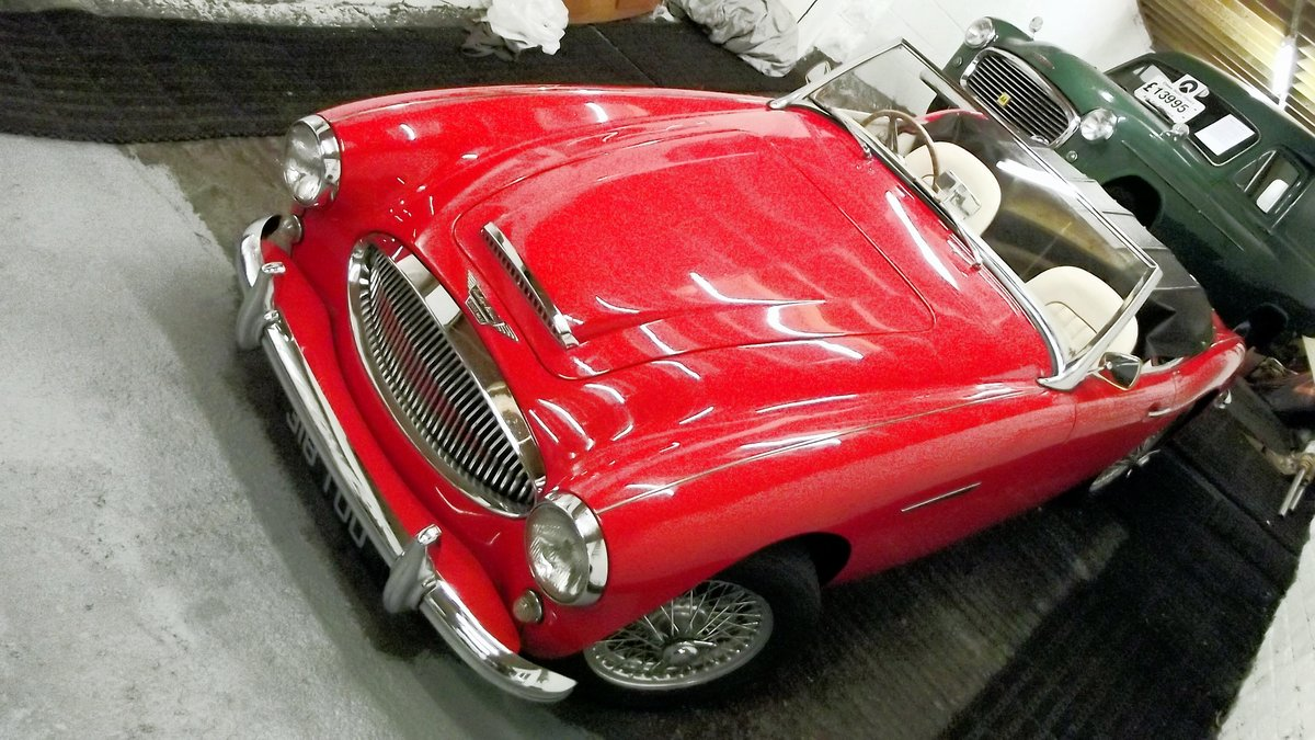 1963 AUSTIN-HEALEY 3000 MKII BT7 (FOUR SEATER MODEL) For Sale (picture 3 of 6)