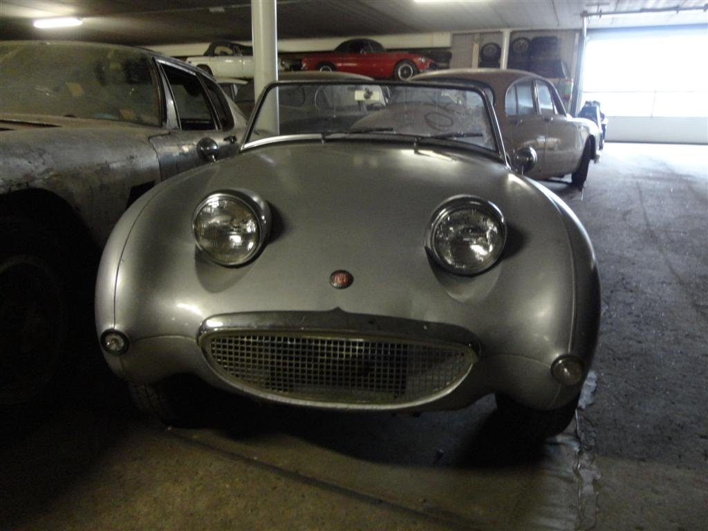 Austin Healey Frogeye silver 1962 For Sale (picture 5 of 6)