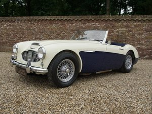 1959 Austin Healey 100/6 BN4 overdrive, bare-metal TOP restored,  For Sale
