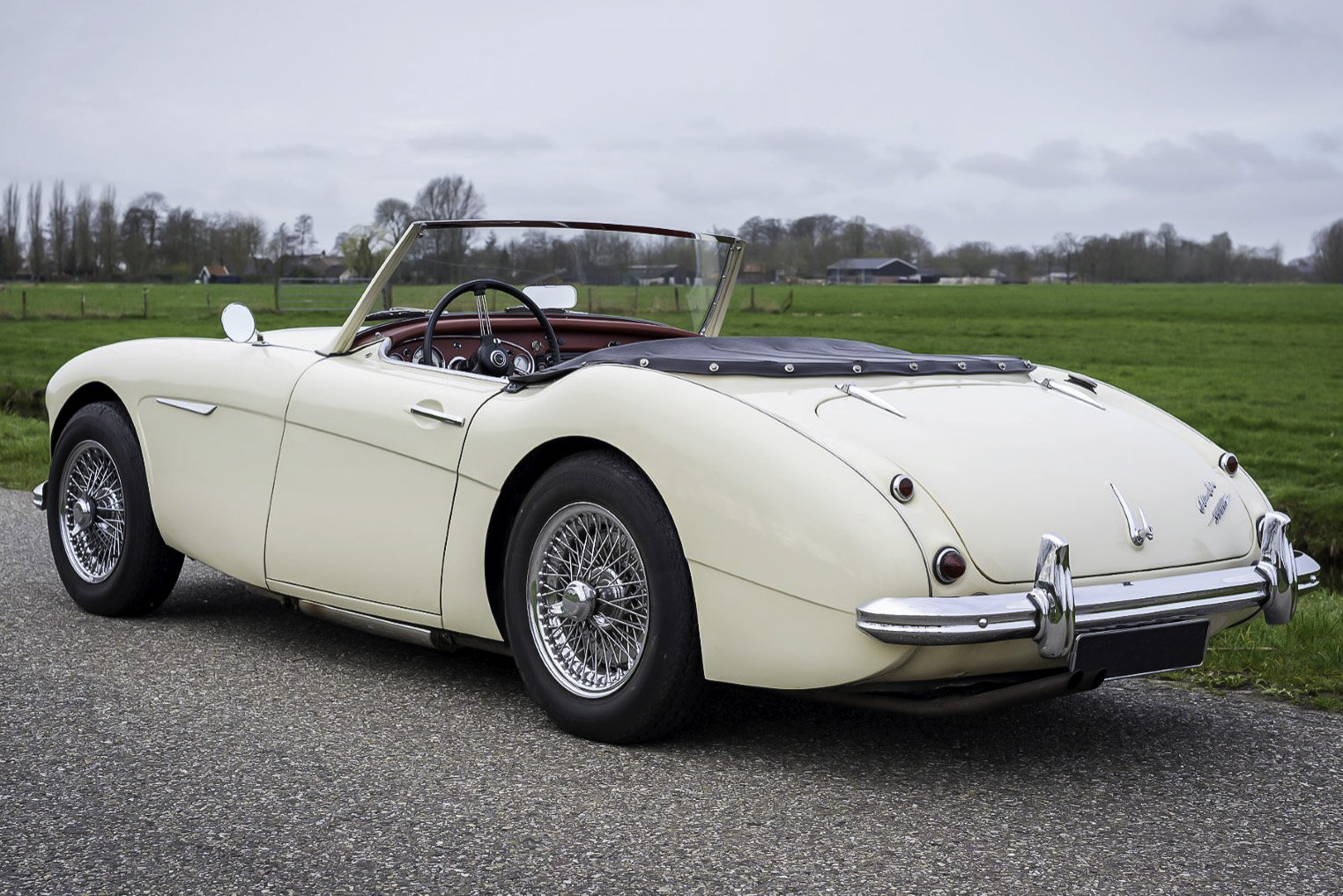 1962 Austin Healey 3000 MK2 For Sale (picture 2 of 6)