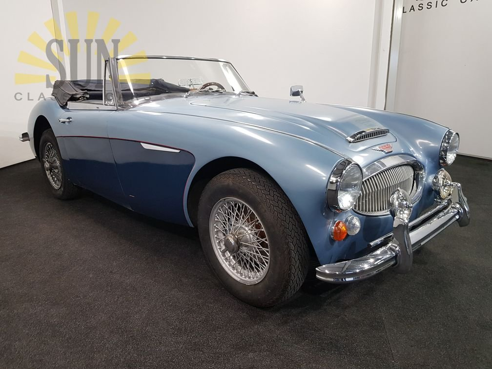 Austin-Healey 3000MK3 BJ8 1967, overdrive. For Sale (picture 2 of 6)