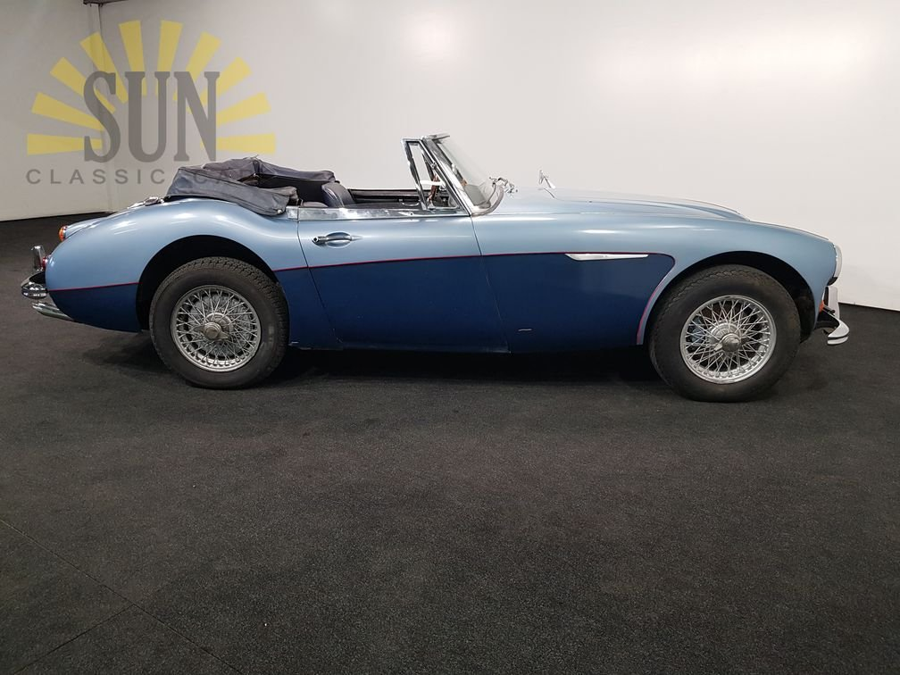 Austin-Healey 3000MK3 BJ8 1967, overdrive. For Sale (picture 3 of 6)