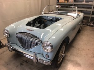 EARLY WARWICK REGISTERED 1953 AUSTIN HEALEY 100/4  For Sale