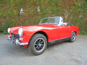 1970 AUSTIN HEALEY SPRITE 1275CC SOLD