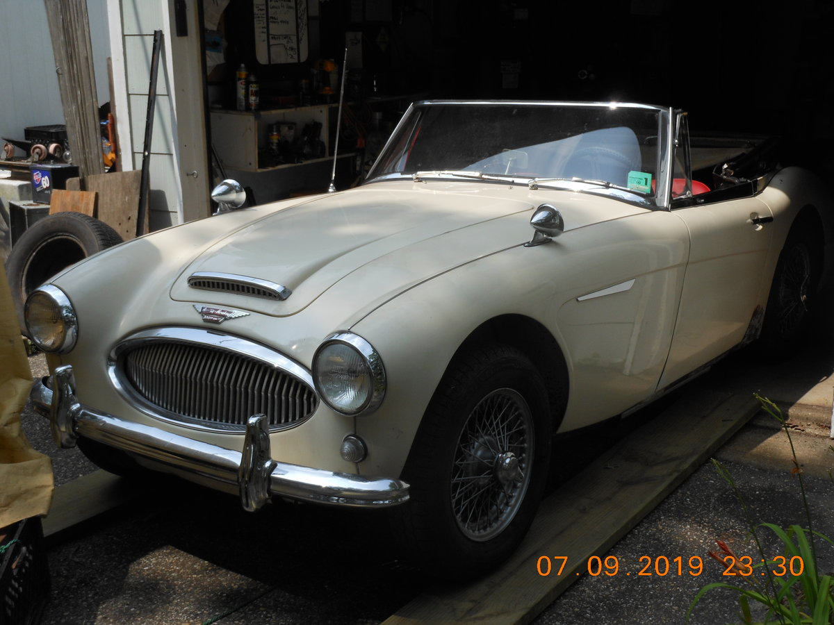 1963 Austin Healey 63 3000 43 years silent unmolested SOLD (picture 1 of 6)