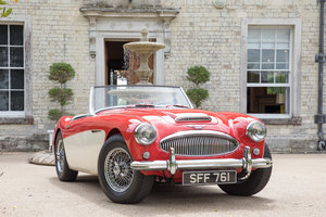 1962 Austin Healey 3000 MkII BN7/2-Seater, Centre Change,Tri Carb