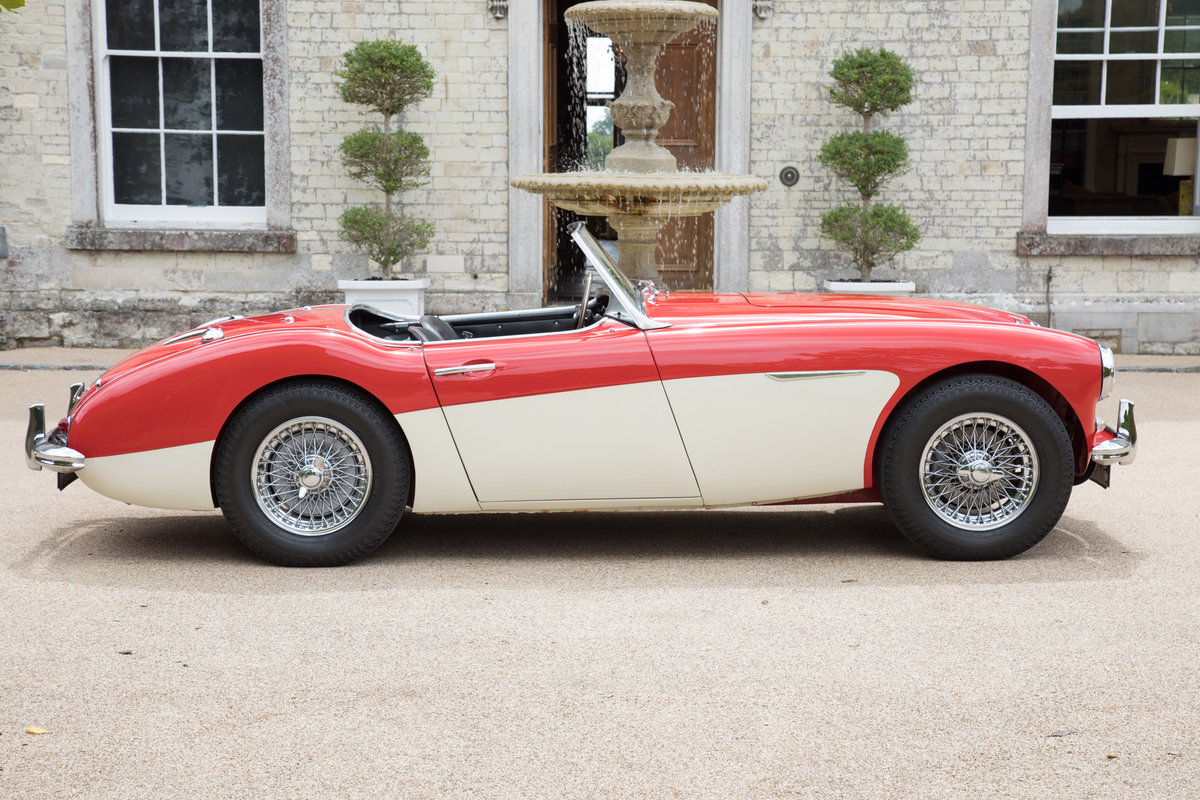1962 Austin Healey 3000 MkII BN7/2-Seater, Centre Change,Tri Carb For Sale (picture 2 of 6)
