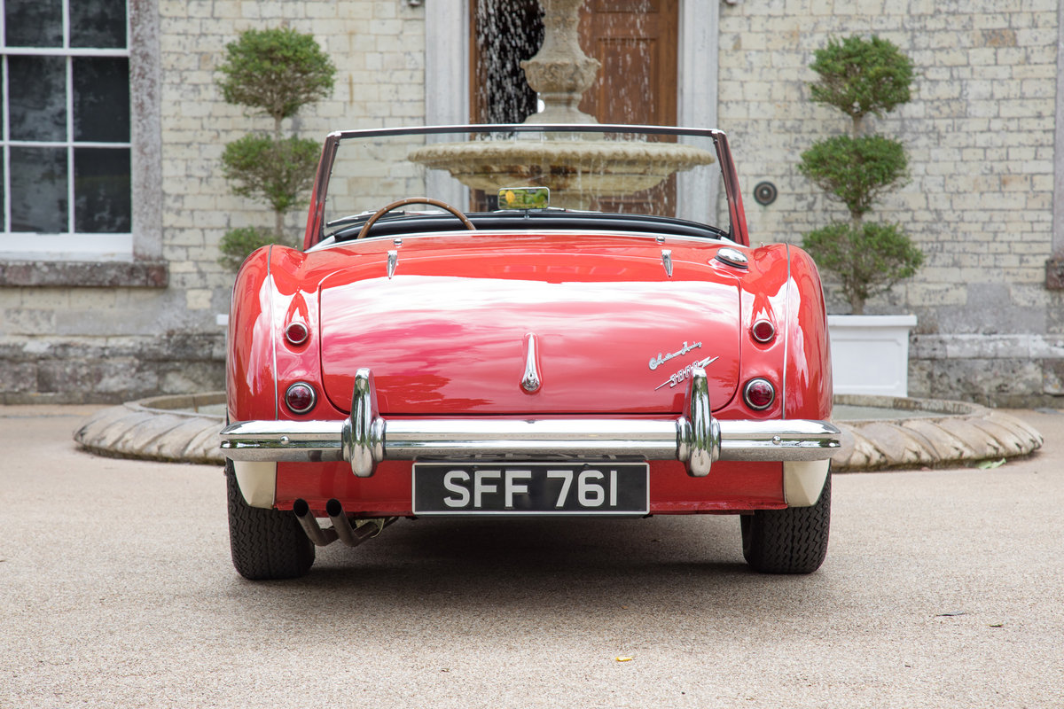 1962 Austin Healey 3000 MkII BN7/2-Seater, Centre Change,Tri Carb For Sale (picture 4 of 6)