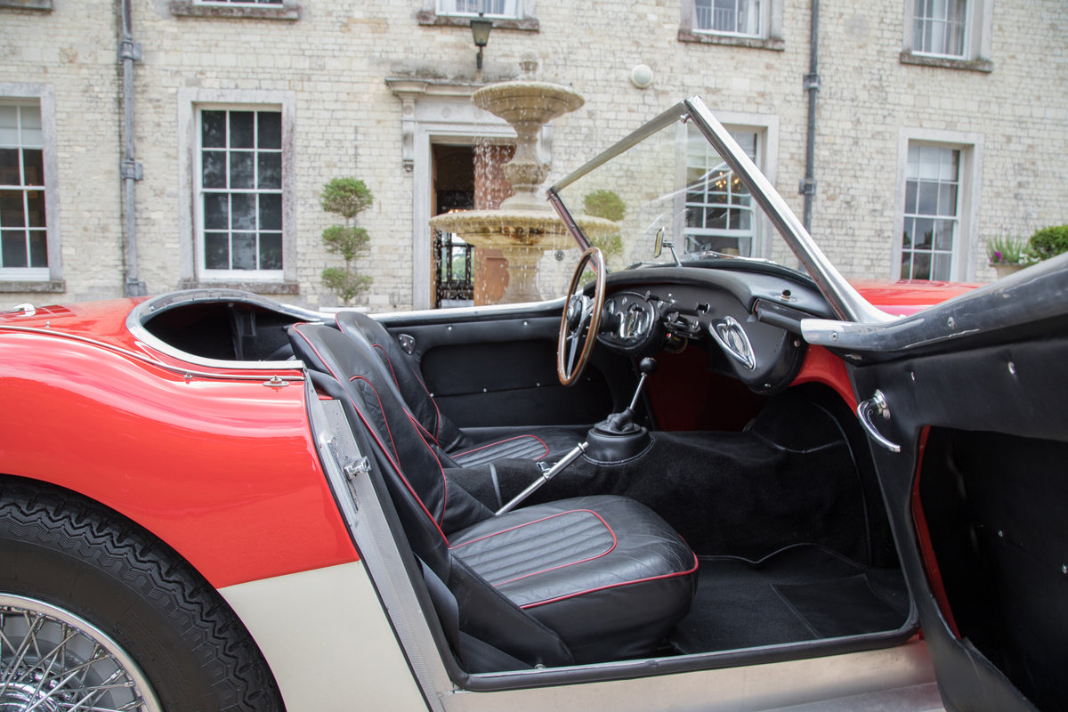 1962 Austin Healey 3000 MkII BN7/2-Seater, Centre Change,Tri Carb For Sale (picture 5 of 6)