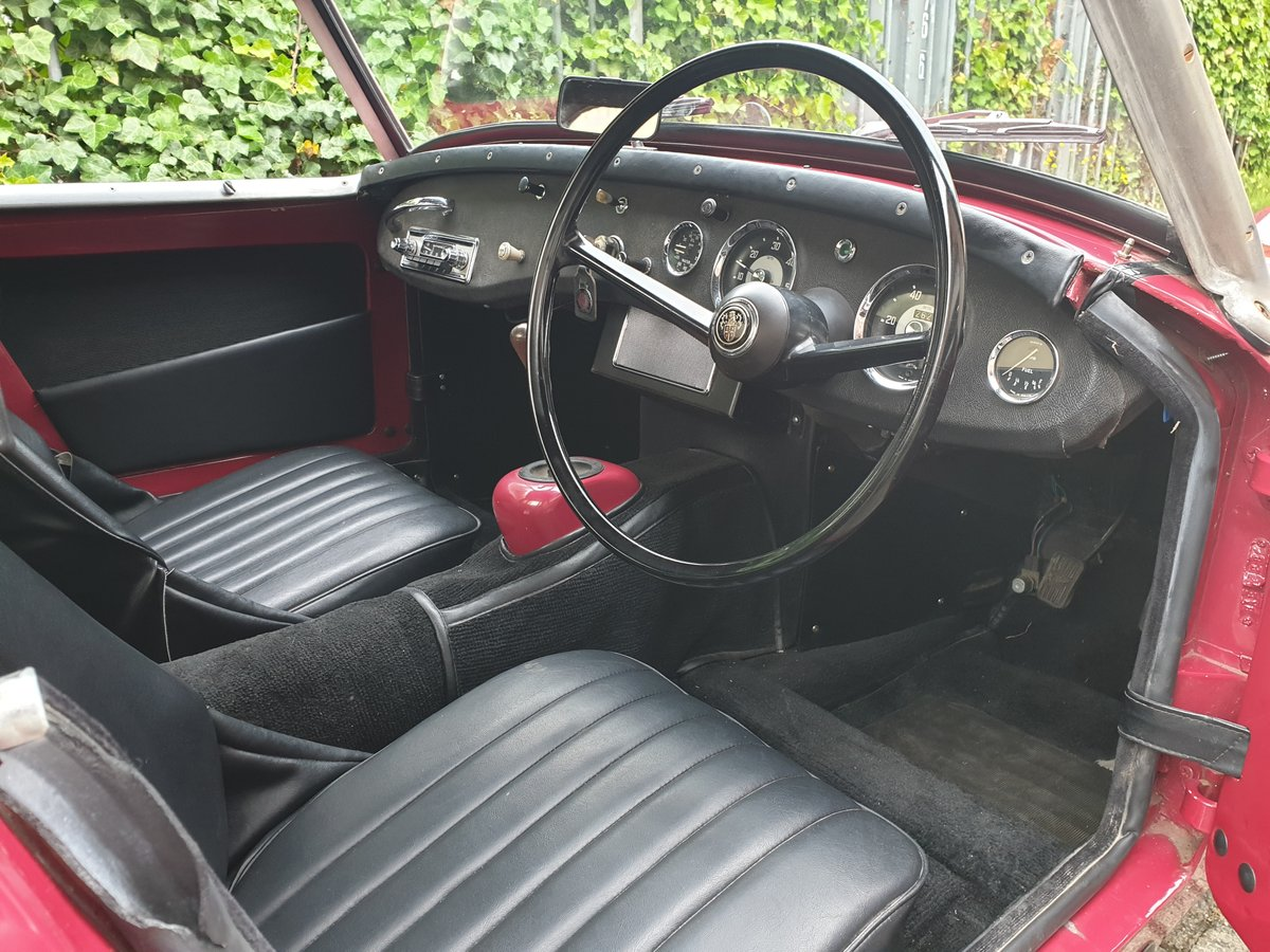 1958 Austin Healey Sprite MKI Frogeye For Sale (picture 3 of 6)