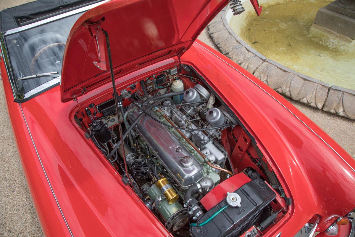 1967 Ex Arthur Carter, 16k mile, Original Austin-Healey 3000 MK3 For Sale (picture 6 of 6)