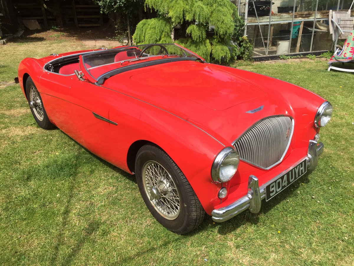 1955 AUSTIN HEALEY 100/4 BN1 ORIGINAL CAR For Sale (picture 1 of 6)