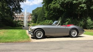 1961 Austin Healey 3000 Gun Metal Grey