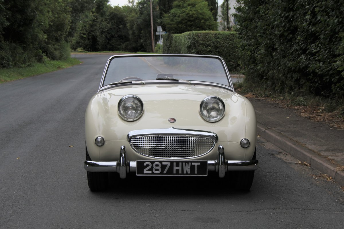 1959 Austin Healey Frogeye Sprite MKI - UK car, Matching No's For Sale (picture 2 of 12)