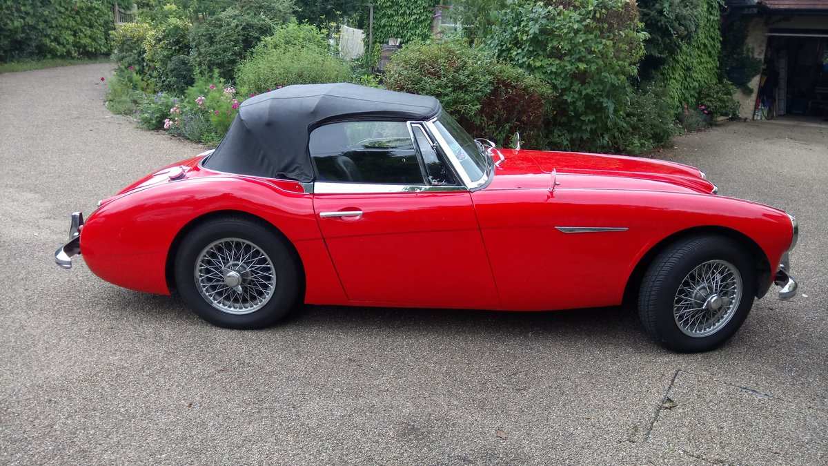 1963 Austin Healey 3000 For Sale (picture 2 of 6)