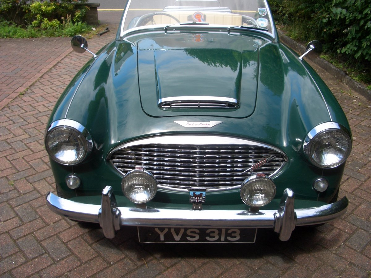 1959 Austin Healey 3000 Mk1 Four-Seater For Sale (picture 3 of 6)