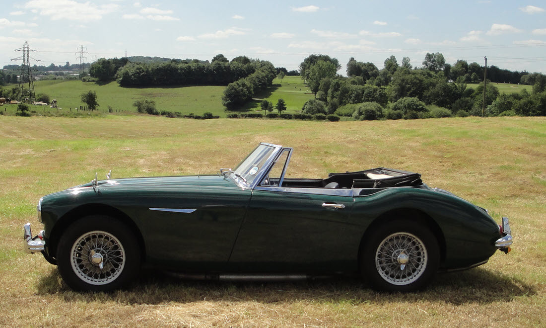 1965 AUSTIN HEALEY 3000 MK III BJ8 For Sale by Auction (picture 1 of 6)