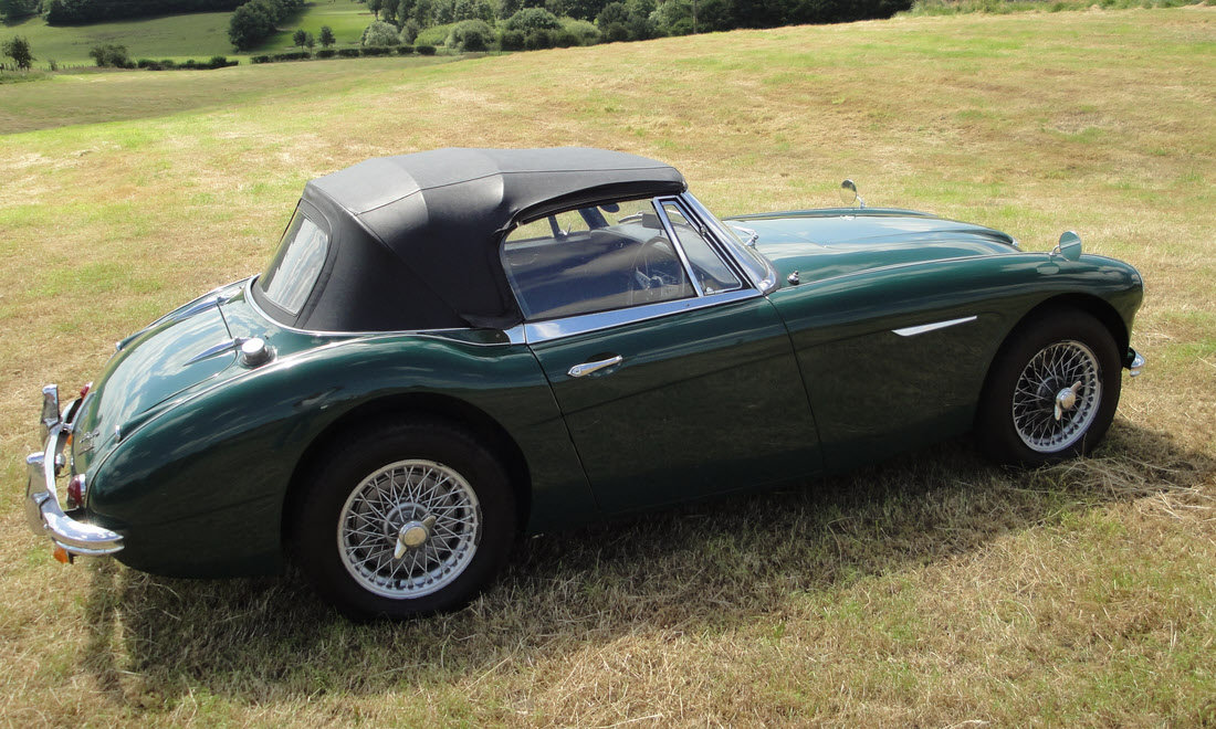 1965 AUSTIN HEALEY 3000 MK III BJ8 For Sale by Auction (picture 3 of 6)