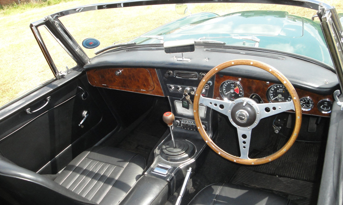1965 AUSTIN HEALEY 3000 MK III BJ8 For Sale by Auction (picture 4 of 6)