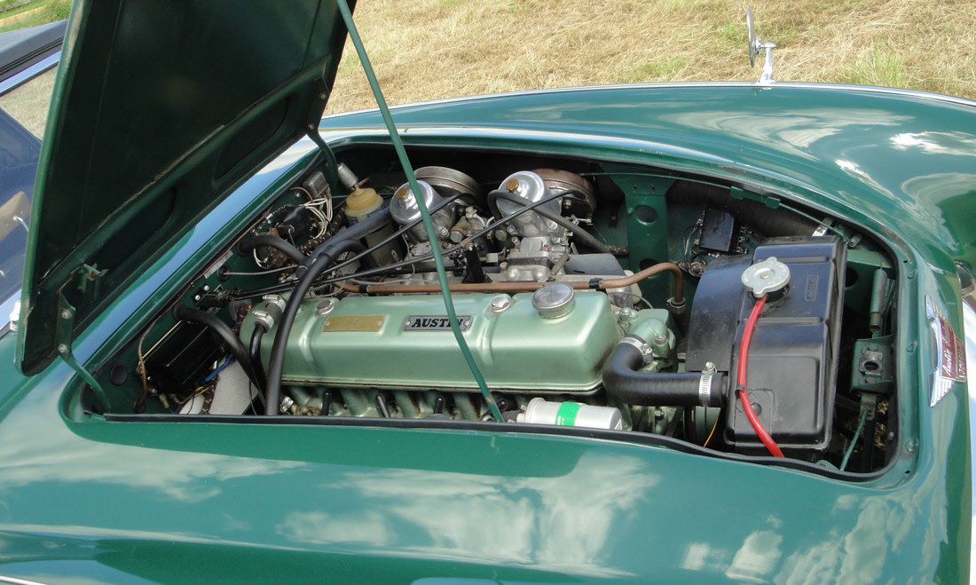 1965 AUSTIN HEALEY 3000 MK III BJ8 For Sale by Auction (picture 6 of 6)