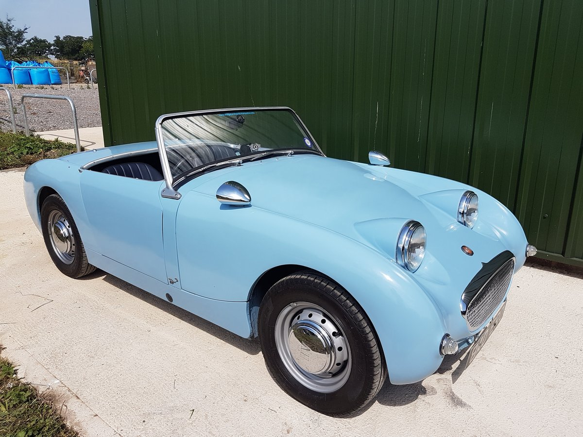 1958 Austin Healey Sprite Frogeye SOLD (picture 1 of 6)