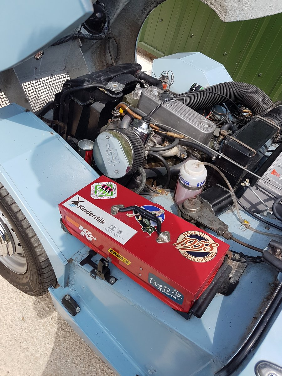 1958 Austin Healey Sprite Frogeye SOLD (picture 6 of 6)