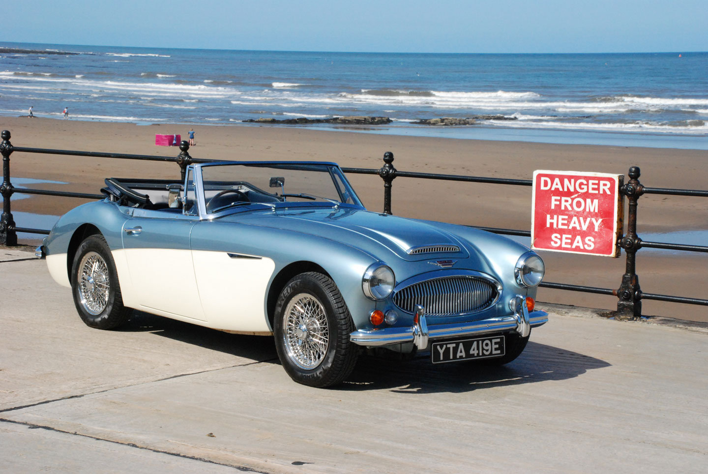 1967 Austin Healey 3000 Mk 3 BJ8 Phase 2    For Sale (picture 1 of 6)