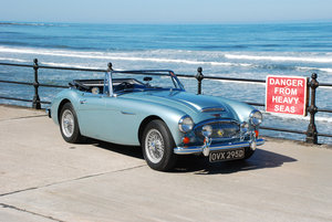 1966 Austin Healey 3000 Mk 3 BJ8 1965. Original UK RHD Car For Sale