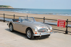 1967 Austin Healey 3000 Mk 3 - Original Metallic Golden Beige Car For Sale