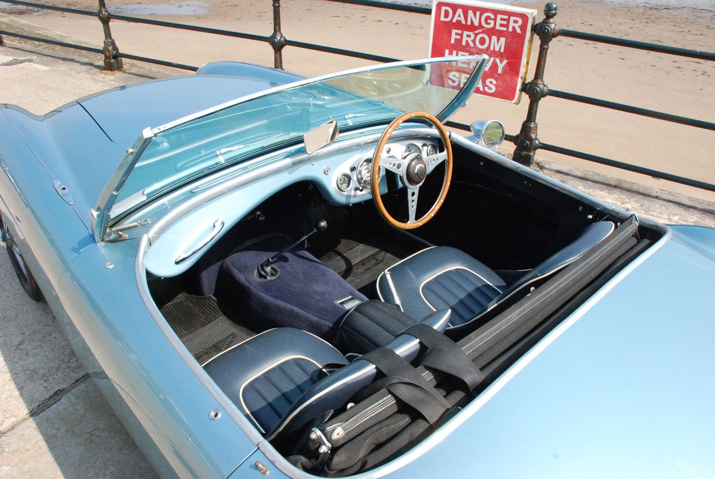 1955 Austin Healey 100/4 BN2 - Original RHD Blue Car. SOLD (picture 5 of 6)